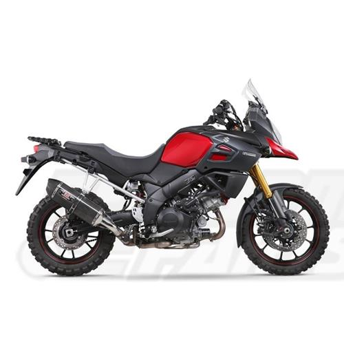 Suzuki DL1000 V Strom 14-15 Yoshimura R77 Signature Series Slip-On