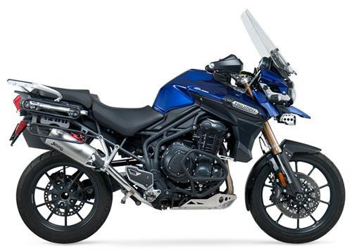 Triumph Tiger 1200 Explorer 12-13 Yoshimura RS-4 Slip-On