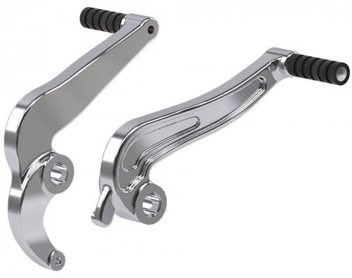 Indian Scout Chrome Foot Brake / Shift Lever Kit