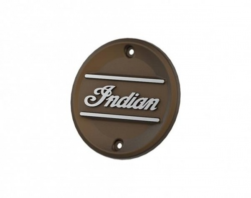 Indian Scout Primary Engine Badge