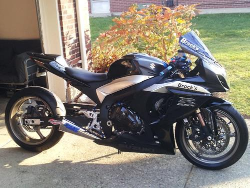 Suzuki GSXR1000 09-16 Brock's 14'' Alien Head Full System