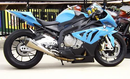 BMW S1000 RR 10-14 Brock's 17'' CT Megaphone Full System