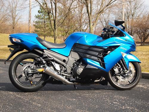 Kawasaki ZX-14R 12-17 Brock's 14'' ShortMeg 2 Full System