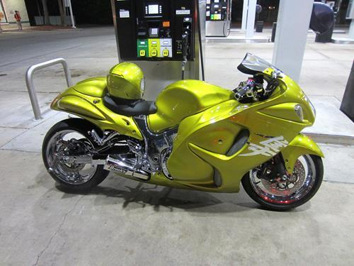Suzuki GSX1300 R Hayabusa 99-17 Brock's 14'' ShortMeg 2 Full System