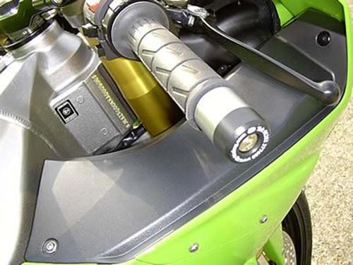 Bar End Sliders for Kawasaki (most), Kyle Racing bars