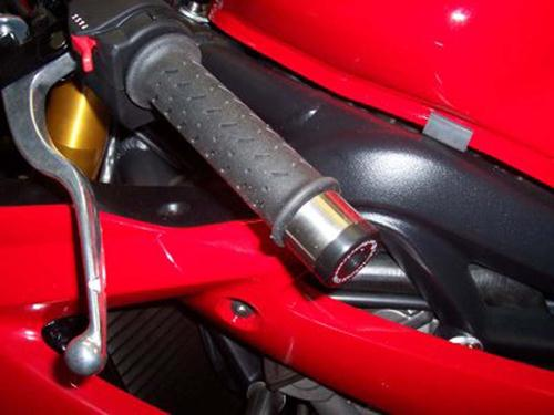 Bar End Sliders, Triumph 675 Daytona '06-