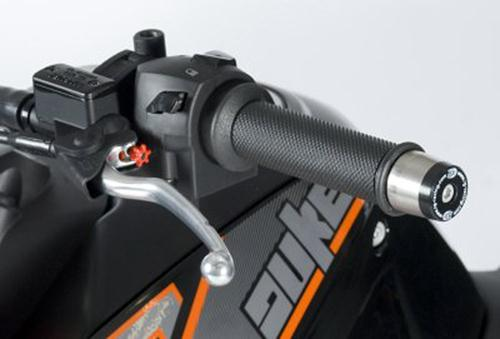 Bar End Sliders, KTM 690 Duke '12 / 690 Duke R / 990SMR '08-'12 / 1290 Super Duke