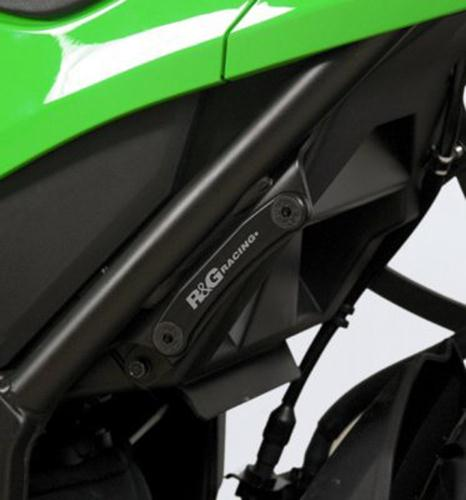 Rear Footrest Plate (left side), Kawasaki Ninja 300 / Ninja 250 '13 / Z250