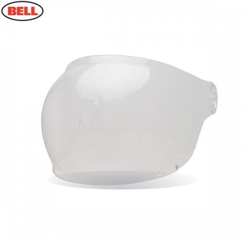 Bell Replacement Bullitt Bubble Shield (Brown Tabs) Clear