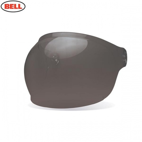 Bell Replacement Bullitt Bubble Shield (Brown Tabs) Dark Smoke
