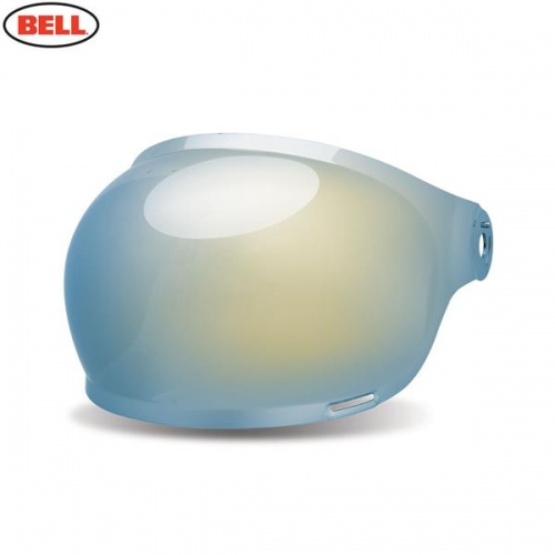 Bell Replacement Bullitt Bubble Shield (Brown Tabs) Gold Iridium