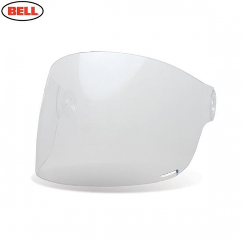 BBell Replacement Bullitt Flat Shield (Brown Tabs) Clear