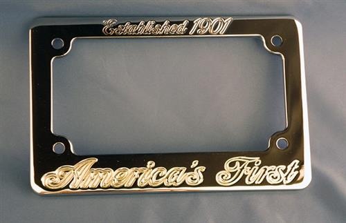 Aeromach Licence Plate Holder - ''Americas First''