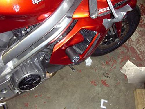Crash Protector - Aprilia FALCO top fairing