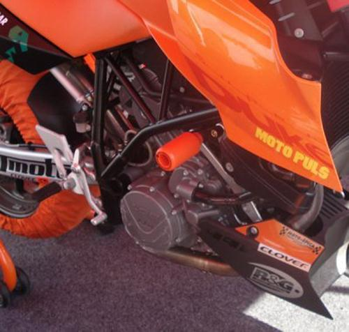 Crash Protectors (upper), KTM 990/990R Super Duke & 990SM '08-