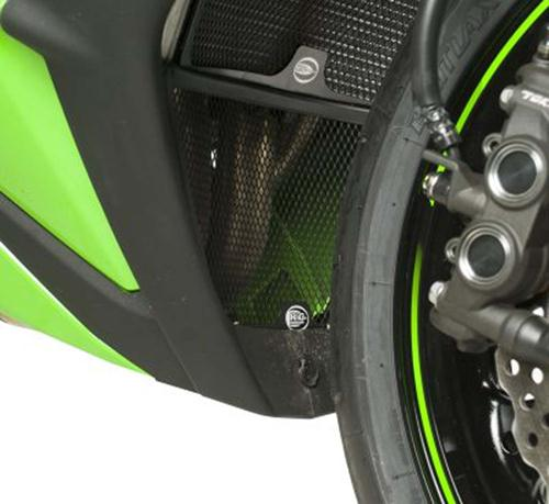 Downpipe Grille, Kawasaki ZX10R '11- (must be fitted with RAD0068)