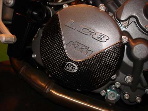 Carbon Engine Case Slider RHS Only - (LC8)  990 Super Duke / 990 Adventure / 950/990SM / 990SMT / 990SMR