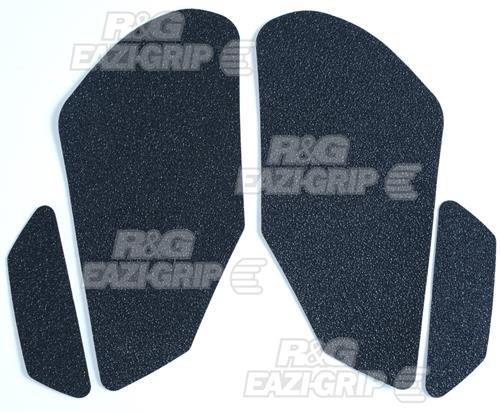 Honda CBR1000RR Traction Pads  2004-2007: Black  4-Grip Kit