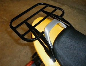 Suzuki GS500 K / FK (2000+) Black Renntec Sport / Carrier Rack