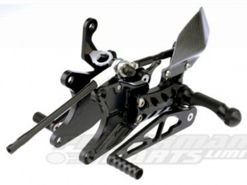Honda CBR1000 RR Fireblade 08-14 (not ABS) Gilles Adjustable Rearsets