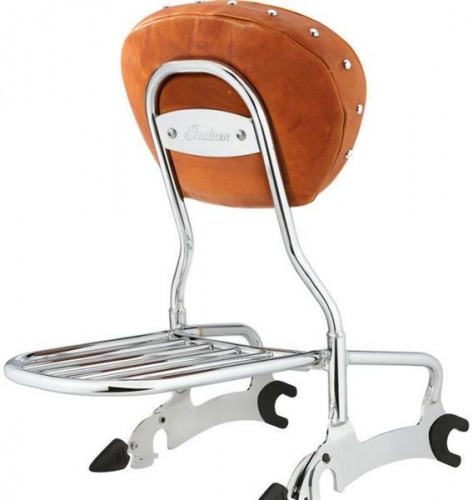 Indian Deluxe Passenger Backrest Luggage Rack