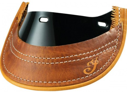 Indian Heritage Leather Front Mud Flap