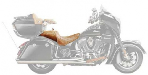 Indian Leather Heated Touring Seat