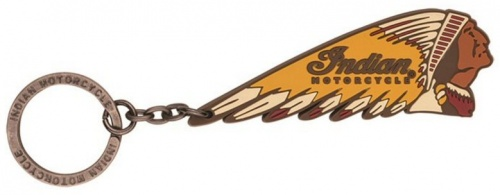 Indian Headdress Rubber Key Ring