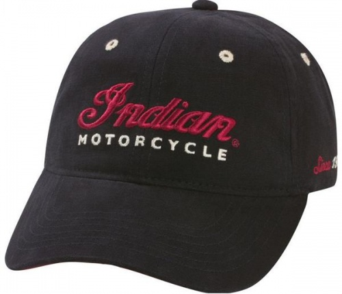 Indian Motorcycle Logo Hat - Black