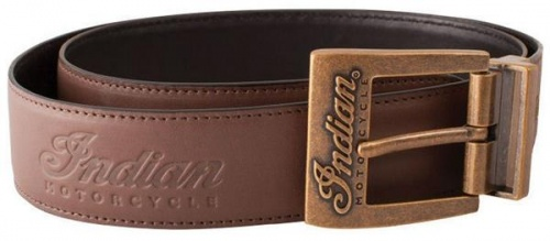 Indian Motorcycle Reversible Leather Belt