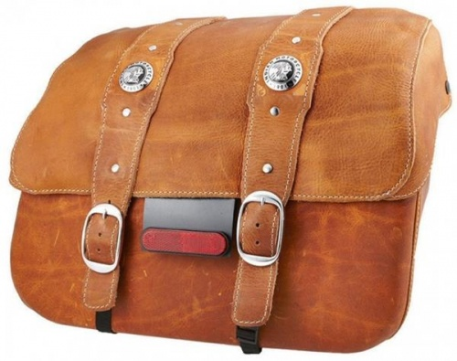 Indian Scout Leather Saddlebags