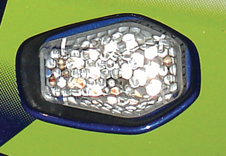 LED Fairing Insert Indicators - Suzuki 01>