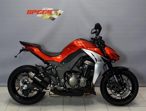 Kawasaki Z1000 2014 Bodis GPX2 S Exhausts