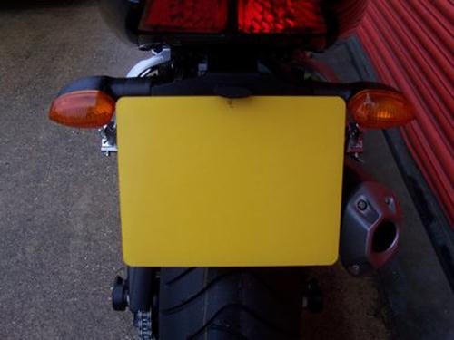 Licence Plate Holder, Yamaha Fazer 1000 '06- (NOT FZ1 NAKED)