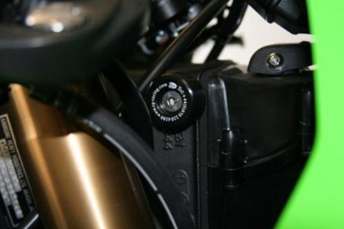 Lockstop Savers, ZX10-R '04-'05 & '08 / ZX636 '03-'04  (cannot use manufacturer's steering lock with this product!)