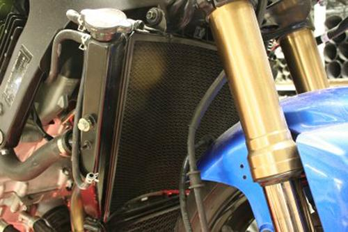 Radiator Guard - BLACK - Suzuki GSX-R 1000 K7-K8