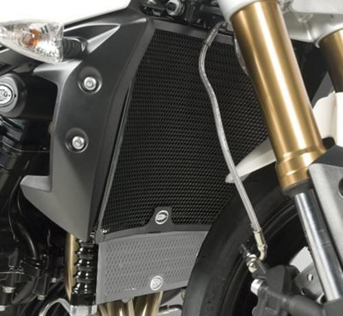 Radiator Guard BLACK - Triumph Speed Triple '11