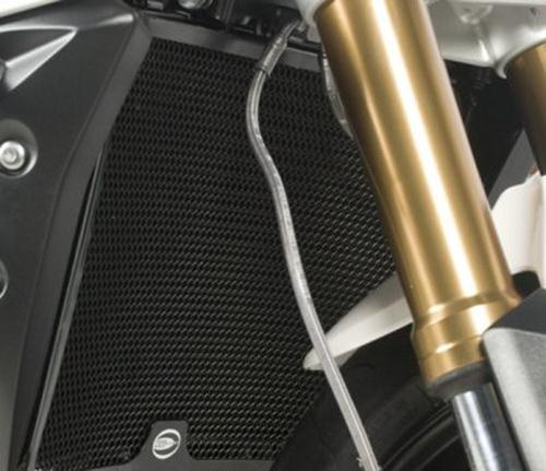 Radiator Guard BLACK - Suzuki GSR750 '11