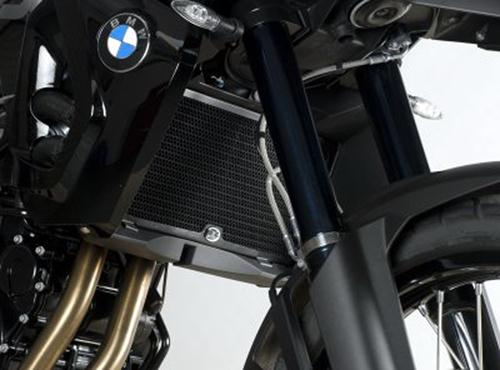 Radiator Guard BLACK - BMW F800GS '08-