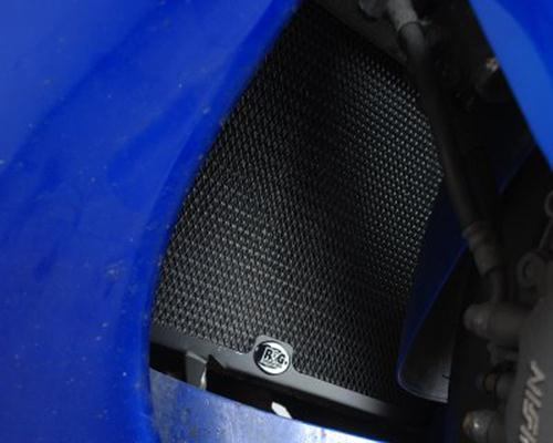 Radiator Guard BLACK - Honda CBR1100XX Blackbird '96-'98