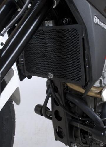 Radiator Guard BLACK - Husqvarna TR650 Strada