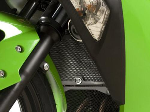 Radiator Guard BLACK - Kawasaki Ninja 300 / 250 '08-'13 / Z250