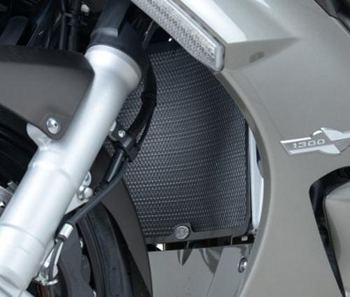 Radiator Guard, BLACK - Yamaha FJR1300 '06-