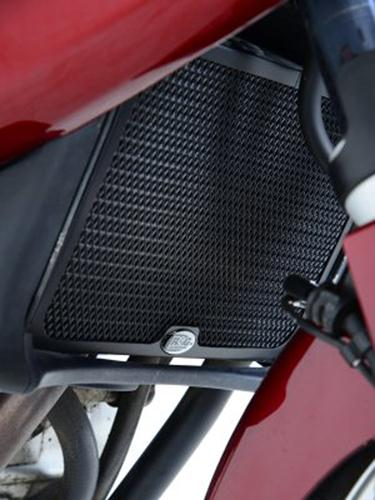 Radiator Guard BLACK - Honda NT700V Deauville '06-'10