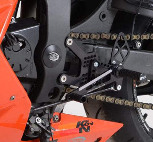 Rearsets, Kawasaki ZX6-R '05-'14 (road gearbox, not ABS)