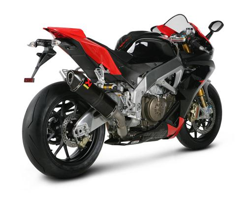 Aprilia RSV4 09-13 Akrapovic Hexagonal Carbon Exhaust