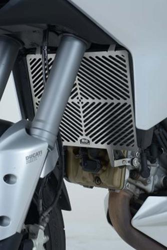 Stainless Steel Radiator Guard, Ducati 1200 Multistrada up to 2014 (NOT GRAN TURISMO VERSION)