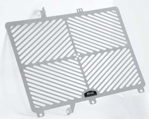 Stainless Steel Radiator Guard, Triumph 800 Tiger