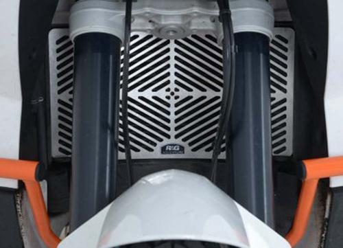 Stainless Steel Radiator Guard, KTM 990 Adventure / 990 Adventure ABS