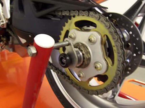 Rear Spindle Sliders, MV Agusta F3 (675 & 800) / F4 1000R / Brutale 675/800/910 / Rivale 800 /  Dragster 800